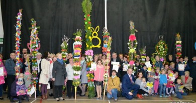 Konkurs Palmy Wielkanocnej w Wydminach.