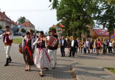 Święto Plonów w Wydminach.