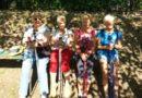 Nasze studentki na Pikniku Nordic Walking w Ełku.