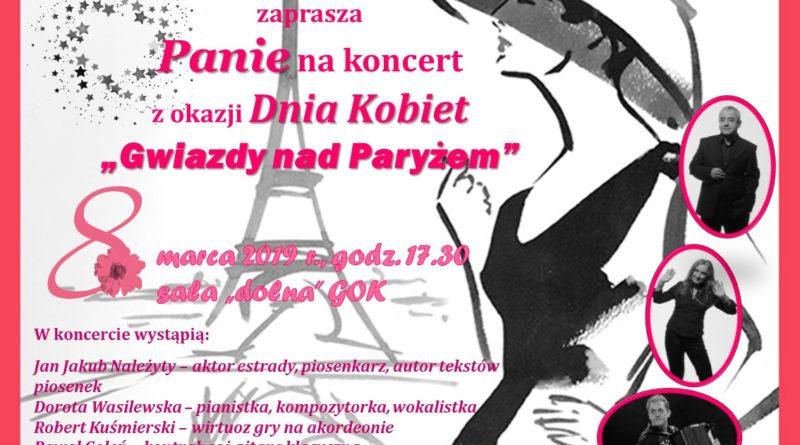 Zapraszamy na koncert z okazji Dnia Kobiet.