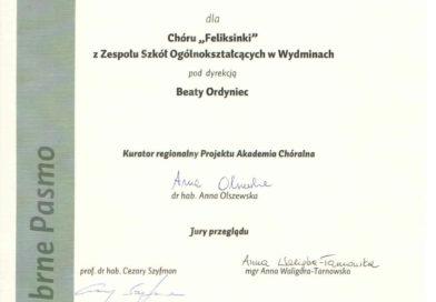 """Sukces chórów """"Felusie"""" i """"Feliksinki"""" w Białymstoku."""