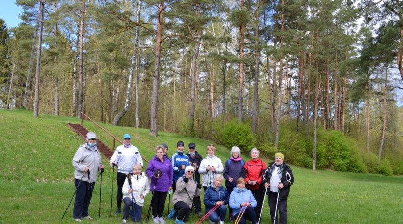 Marsz Nordic Walking w Wydminach.