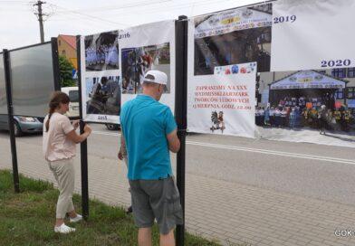 Wystawa XXX-lecia Wydmińskiego Jarmarku Twórców Ludowych.