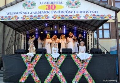 Śpiewem i tańcem świętowaliśmy Jubileusz XXX-lecia Jarmarku w Wydminach.