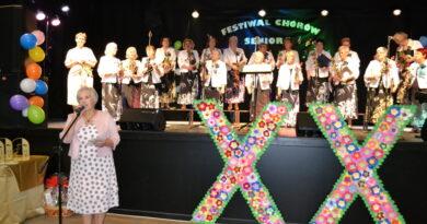 Święto śpiewu chóralnego w Wydminach.